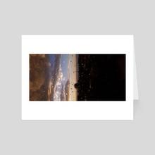Drops - Art Card by Ian Battaglia
