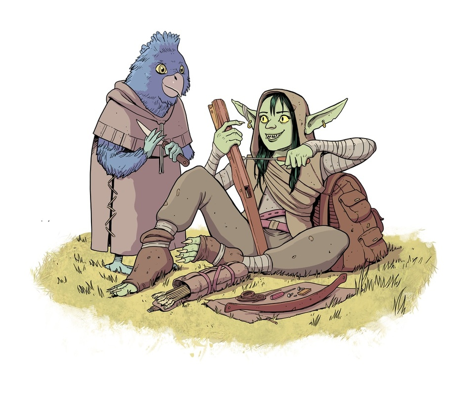 Critical Role Nott Kiri An Art Print By Nuclearpasta Inprnt Critical role is geek & sundry's live dungeons & dragons show, featuring dungeon master matthew mercer and his troupe of fellow voice actors. critical role nott kiri by nuclearpasta