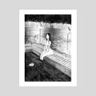 onsen - Art Print by Natalie Saez