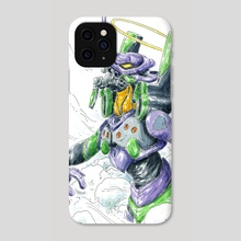 Eva unit 01 - Phone Case by John Carvajal