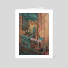 Relais n02 - Art Card by Arthur Bourdot