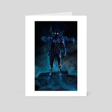blue beetle - Art Card by ATLANT99