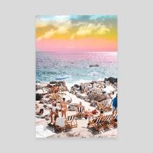 Beach Day || - Canvas by 83 Oranges