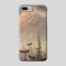 Beyond the Invisible - Phone Case by Murat Turan