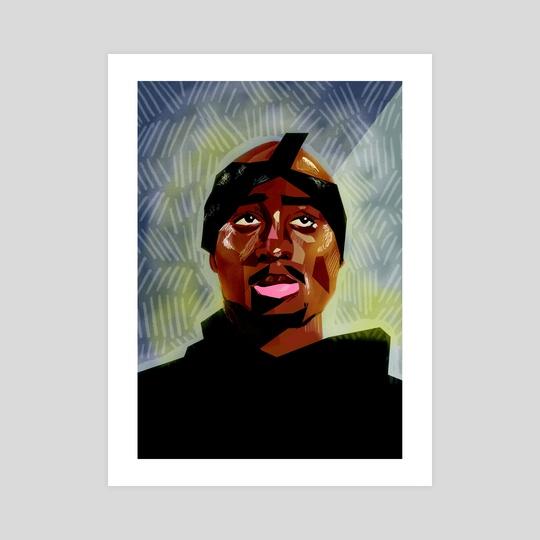Tupac by Carson McNamara