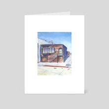 Ed Rickett's Lab - Art Card by Skylaar Amann