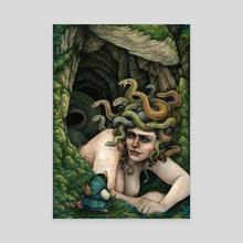 The Gorgon - Canvas by Tom Kilian