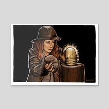 Inktober 2019 | Treasure - Acrylic by Kelsey Collins