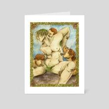 barleycorn  - Art Card by Rowan Fridley