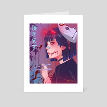 ITADAKIMASU II - Art Card by Jyokai_