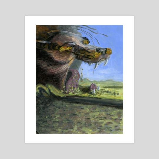 Ragnarok - Fenrir by Stephanie Gobby
