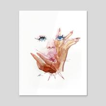 Untitled - Acrylic by Antonio Michel