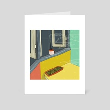funky kitchen - Art Card by wrdd