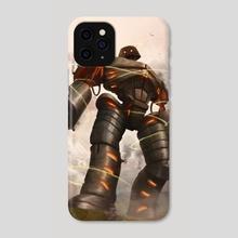 Darksteel Titan - Phone Case by Robert  Schneider