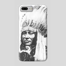 Face-Like-A-Storm - Phone Case by Work of Art Studios