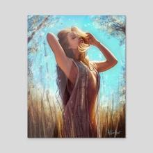 Envolto - Acrylic by Arthur  Henri