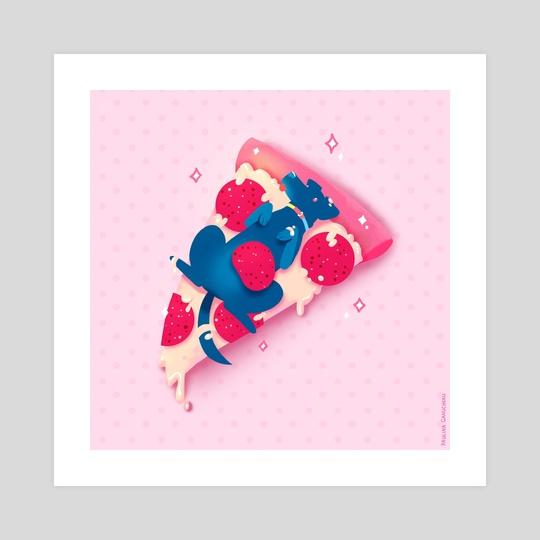 Pupperoni PIzza  by Paulina Ganucheau