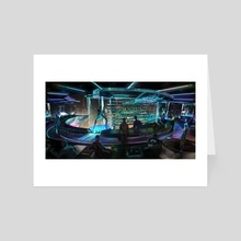 spacebar - Art Card by Michal Lisowski