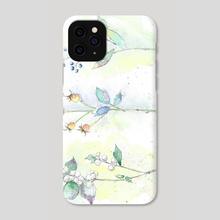 three flowers - Phone Case by Csilla