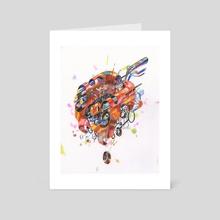 Technomancer Tooslaer - Art Card by Andrew DeGraff