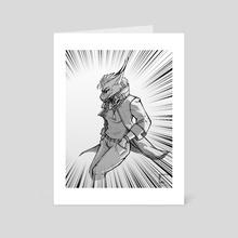 Aver2 - Art Card by Kaja Sztajnykier
