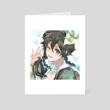 Venti - Art Card by Juu L