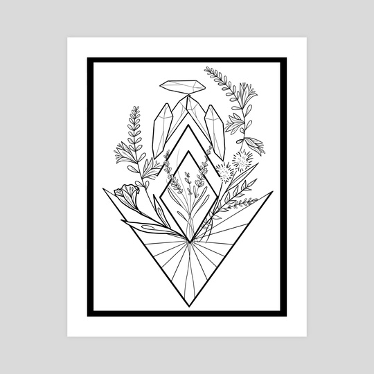 Crystal Garden by Kelly Taylor