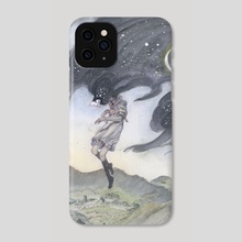 Silence of the Night - Phone Case by Hope Doe
