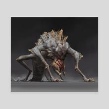 Crawler - Canvas by Maciej Janaszek