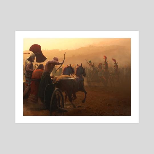 Kadesh Battle by Jose Daniel Cabrera Peña
