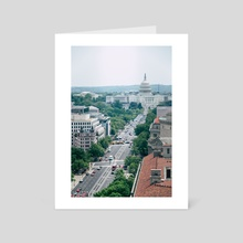 Independence Avenue - Art Card by Alex Tonetti