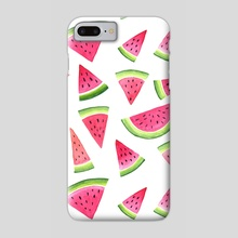 Melons - Phone Case by Hanna Stueker