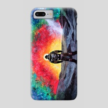 Cosmic rainbow - Phone Case by Anna Shapovalova