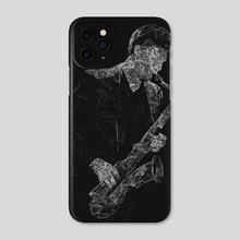 Acid Sax - Phone Case by Micah Denn