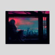When It All Falls Down - Canvas by Rorie Ciriaco