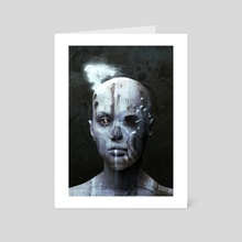 Altered Carbon - Art Card by Dark Crayon