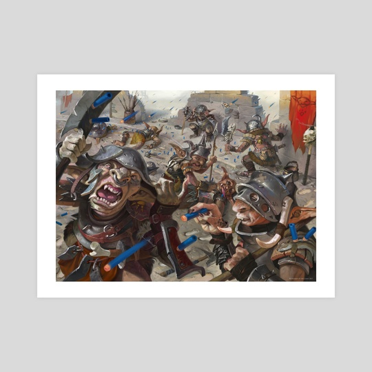 Nerf War by Victor Adame