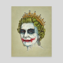 God Save the Villain II - Canvas by Enkel Dika
