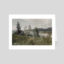 Isle of Skye Seascape, Scotland - Art Card by NoMads Photography