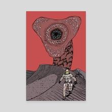 Sandworm - Canvas by Ziad Alhaddad