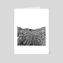 Alien Terrain - Art Card by Paul Raven