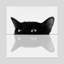 Cat - Canvas by Cvetelina Yurukova