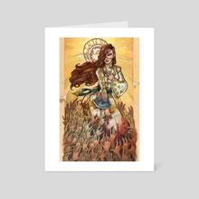 Grisha - Genya - Art Card by Grace Fong