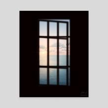 Sunset Window - Canvas by Reed Novak