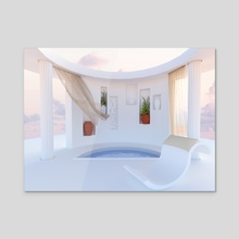 Greece 6 - Acrylic by Zoe Tischner