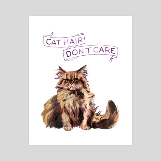 Cat Hair Don't Care by Megan Kott
