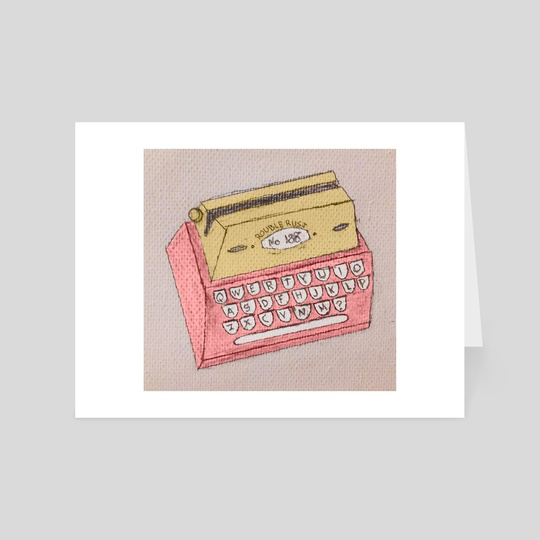 Typewriter by Rouble Rust