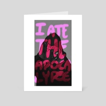 Ate The Apocalypse - Art Card by Katlego