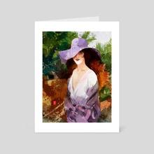 Modella - Art Card by Alessandro Andreuccetti