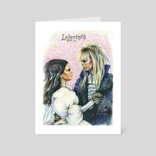 Labirinth - Art Card by Alina Mozzherina